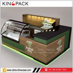 Source Solid wood coffee kiosk with bar counter coffee shop counter design for s. Shop Counter Design, Cafe Shop Design, Kiosk Design, Bakery Design, Cake Shop Interior, Coffee Shop Interior Design, Restaurant Interior Design, Coffee Design, Coffee Shop Counter