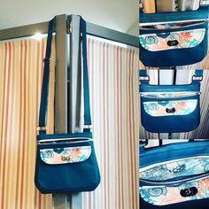 Aiguillesetboutdecoton sur Instagram: Un petit nouveau dans ma panoplie de sacs : le polka de sa coton celui ci est le modèle small compact mais tellement pratique avec ses…