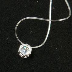 AAA+Zircon Pendant Necklace