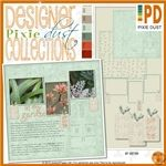 R2R Pixie Dust: My Garden By Janice On January 25, 2013  Janice's garden collection will add an elegant touch to any page!