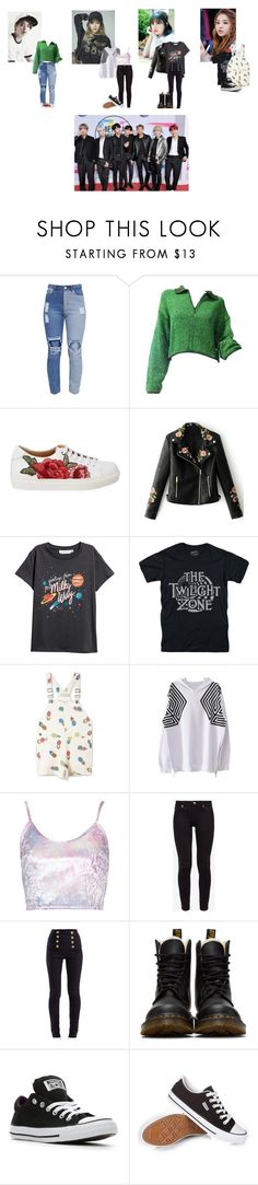 """""""@shaking-blossoms (TBF)"""" by princey-princey ❤ liked on Polyvore featuring Jean-Paul Gaultier, StyleNanda, WithChic, Zone, STELLA McCARTNEY, Ted Baker, Balmain, Dr. Martens and Converse"""