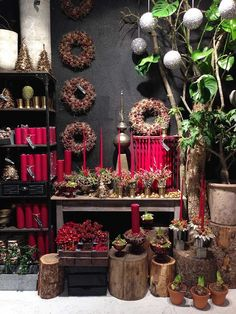 Jul 2014 - bang og thy shop deco в 2019 г. Christmas Shop Displays, Christmas Store, Shop Window Displays, Christmas Shopping, Flower Shop Displays, Design Poster, Garden Shop, Shop Front Design, Shop Interiors