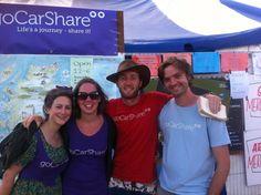 Team goCarShare at Secret Garden Party 2012