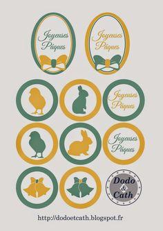Dodo et Cath - Deux copines et leurs petits papiers...: La milkbox de Pâques