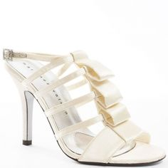 SALE - Womens Martinez Valero Cimmy Stiletto Heels Silver Fabric - Was $139.99 - SAVE $35.00. BUY Now - ONLY $104.99.