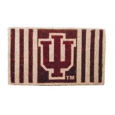 """30"""" NCAA Indiana Hoosiers Football Authentic Logo Indoor Outdoor Welcome Mat by Evergreen. $54.99. Louisville Cardinals Welcome MatItem #0007L653OFFICIALLY LICENSED MERCHANDISEWelcome mat features the authentic logo for the Louisville Cardinals college football team in brightly colored natural fibersFor indoor and outdoor use Dimensions: 18 L x 30 W x 1 H Material(s): Natural fiber"""