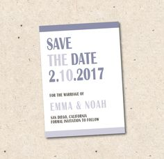 Printed Or Printable Photo Save The Date PostcardSave Our Date