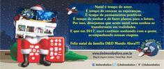 D&D Mundo Afora: O Natal chegou. Vamos celebrar!