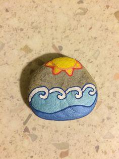 Handpainted rock