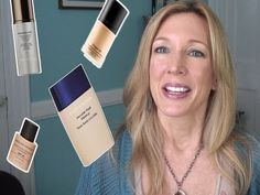 Best & Worst ~ Testing 4 Liquid Foundations for Mature Skin - YouTube