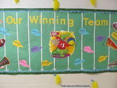 Our Winning Team Bulletin Board... and other board and door ideas