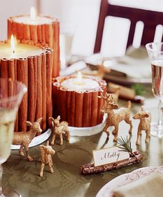 Thanksgiving Centerpieces - Thanksgiving Table Decorations