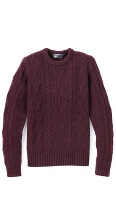 Vince Wool Cable Knit Sweater