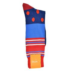 The pair features a perfect blend of style and comfort. These cotton-based socks will surely put you at ease. They have a hand-finished seam, a ribbed cuff, and contrasting solid toe and ankle, making