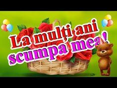 La mulți ani SCUMPA MEA! - Felicitare cu ziua de naștere - YouTube 1 Decembrie, Christmas Ornaments, Holiday Decor, Pizza, Youtube, Christmas Jewelry, Christmas Decorations, Youtubers, Christmas Decor