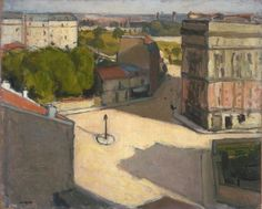 Albert Marquet, Small Square With Street Lamp Paris, 1904