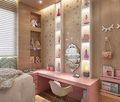 Inspiration für Zuhause - Love for Girly ❤️ room decor - Kinderzimmer Home Bedroom, Bedroom Decor, Bedrooms, Kids Bedroom Designs, Decorate Your Room, Aesthetic Rooms, Dream Rooms, Girl Room, Interior Design Living Room