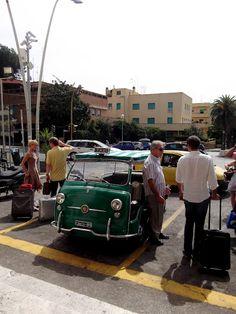 Anzio beatch, this summer. Nice cab.