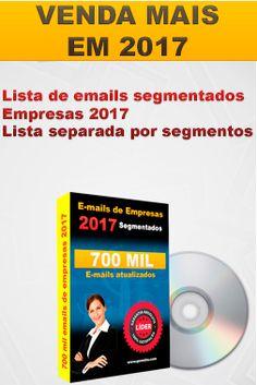 Listas De Email Marketing Empresas 2017    Skype: Power-Tecnology  Telegram : PowerEmails  Whatsapp: (11)95142-6402
