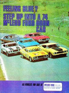 https://flic.kr/p/22xUWx6   1973 XA XB Ford Falcon Hardtop GT McLeod Dord Horn Car Aussie Original Magazine Advertisement