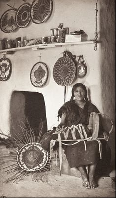 Adam Clark Vroman, Indian Mother With Her Child, circa 1900, The Marjorie and Leonard Vernon Collection, gift of The Annenberg Foundation, acquired from Carol Vernon and Robert Turbin, M.2008.40.2299, LACMA.