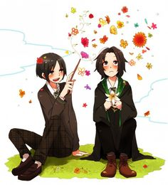 regulus and severus Harry Potter Images, Harry Potter Anime, Harry Potter Film, Harry Potter Fan Art, Harry Potter Fandom, Harry Potter Characters, Harry Potter World, Harry Potter Severus Snape, Severus Rogue