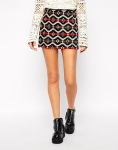 Glamorous Embroidered Skirt 37.14€