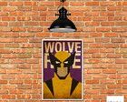 Placa Decorativa Mdf Wolverine Wolverine, Hand Crafts