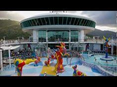 YouTube - Royal Caribbean Freedom of the Seas. Going on it next March for our 20th Anniversary.
