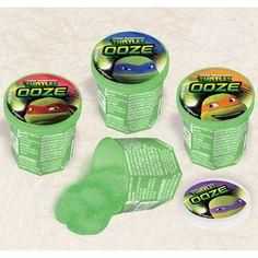 teenage mutant ninja turtle party favor | ... ninja turtles party supplies - teenage mutant turtles ooze putty favor