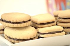 """Galletas """"Principe"""" con Thermomix Cookie Recipes, Dessert Recipes, Biscuits, Thermomix Desserts, Pastry Cake, Food Humor, Cookies, What To Cook, Fondant Cakes"""