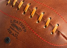 Leather Head™ Naismith Style Lace Up Basketball. - Leather Head Sports