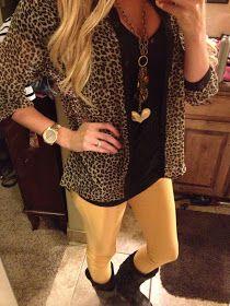 McKi's: Cheetah Print & Skinnys
