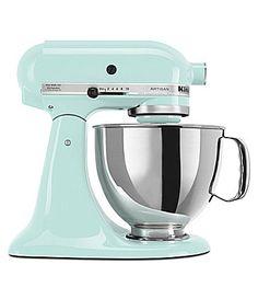 "KitchenAid ""Artisan"" Ice Blue 5-Quart Tilt-Head Stand Mixer | Dillards.com"