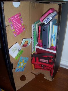 American Girl Friends: My Doll Locker! Craft # 3