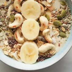 Smoothie Bowl, Smoothies, Cooking Recipes, Healthy Recipes, Morning Food, Potato Salad, Oatmeal, Flora, Food And Drink