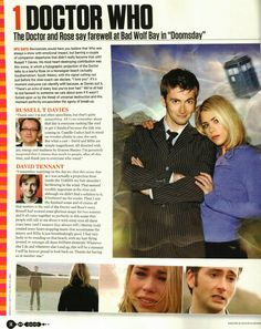 """David Tennant On Doctor Who's Doomsday """"This Will Be A Moment I Will Be Forever Proud To Look Back On"""""""
