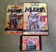 M.U.S.H.A. - Sega Genesis / Megadrive - Reproduction Cart w/ Case and                       – CrebbaTECH