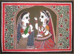 mithila painter, Rani Jha