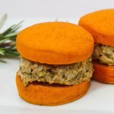 Sweet Potato Chicken Sandwich Gluten Free