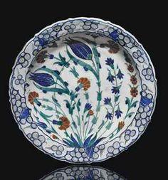 an_iznik_pottery_dish_ottoman_turkey_circa_1570_d5551044h