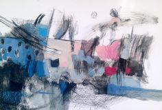 #olyaleontieva #mixedmedia #abstractexpressionism #abstract #art #painting #oilpainting