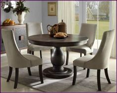 iconic furniture company antiqued grey stone  black stone 42 x 42 x 60 inch round dining table   dining room table   pinterest   furniture companies     iconic furniture company antiqued grey stone  black stone 42 x 42      rh   pinterest com
