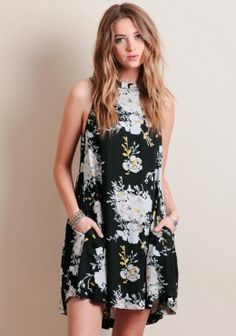 Sun Dance Floral Dress By Knot Sisters