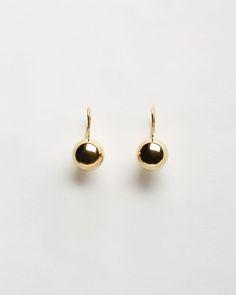 Sophie Buhai Gold Sphere Drop Earrings