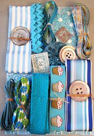 Can use all kinds of embellishments to wrap presents, scrapbook or craft.