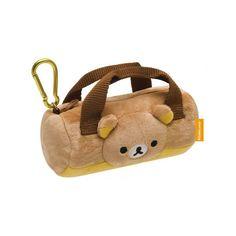 Cute Kawaii San-X Rilakkuma Bag Charm Coin Zip Pouch - Mini Handbag Rilakkuma, Purse Wallet, Pouch, Japanese Bag, Softie Pattern, Kawaii Gifts, Cute School Supplies, Anime Gifts, Kawaii Shop