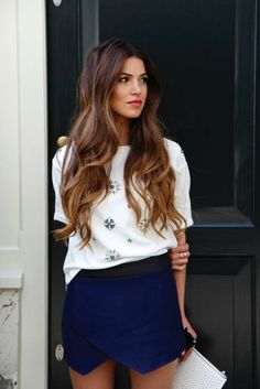 Balayage on fleek: over 30 trend looks, how to change the hair color Balayage on fleek: Über 30 Trend-Looks, wie du die Haarfarbe tragen kannst!, … Balayage on fleek: over 30 trend looks on how to wear the hair color! Auburn Balayage, Balayage Blond, Balayage Hairstyle, Bayalage, Elegance Hair, Haircuts For Long Hair, Long Curly Hair, Curly Hair Styles, 2015 Hairstyles