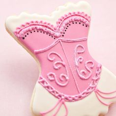 Bachelorette Cookie Favors 1 doz Corset by PastryTartBakery
