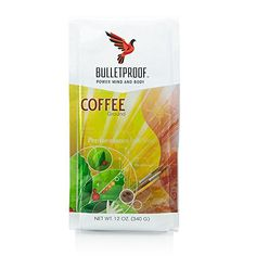 Bulletproof® Ground Coffee 12oz - http://teacoffeestore.com/bulletproof-ground-coffee-12oz/